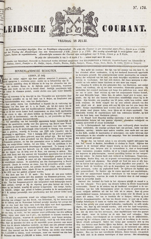 Leydse Courant 1871-07-28