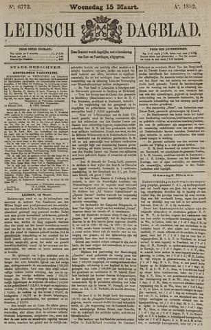 Leidsch Dagblad 1882-03-15