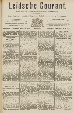 Leydse Courant 1887-11-17