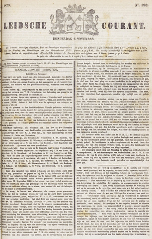 Leydse Courant 1879-11-06
