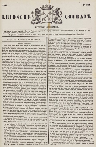 Leydse Courant 1884-12-06