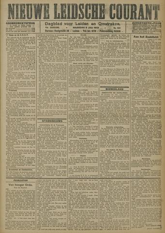 Nieuwe Leidsche Courant 1923-07-09