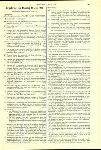 Handelingen van de Raad 1936-06-22