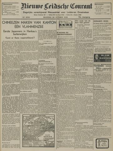 Nieuwe Leidsche Courant 1938-10-24