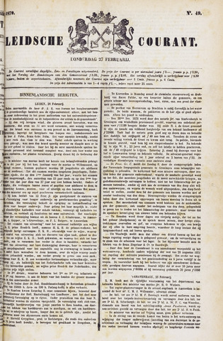 Leydse Courant 1879-02-27