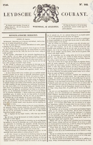 Leydse Courant 1846-08-26
