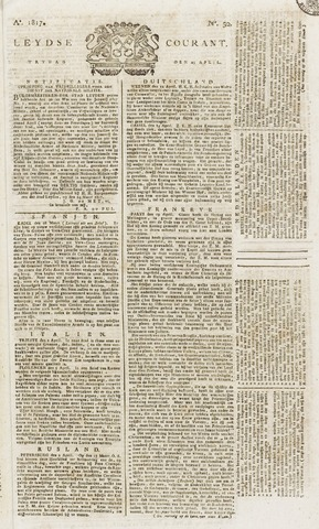 Leydse Courant 1817-04-25