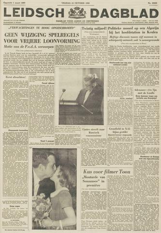 Leidsch Dagblad 1959-10-23