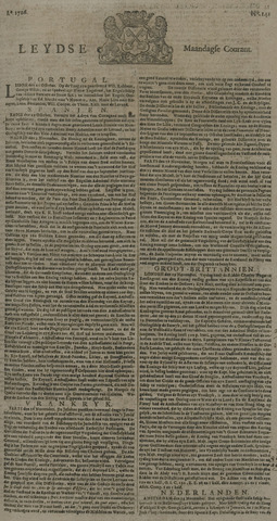 Leydse Courant 1726-11-25