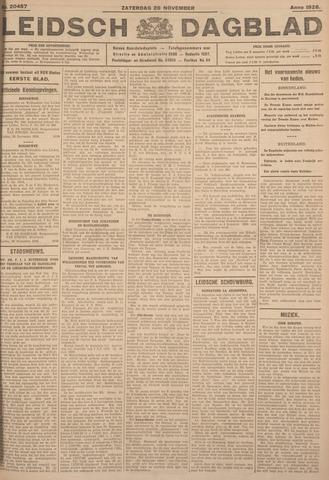 Leidsch Dagblad 1926-11-20