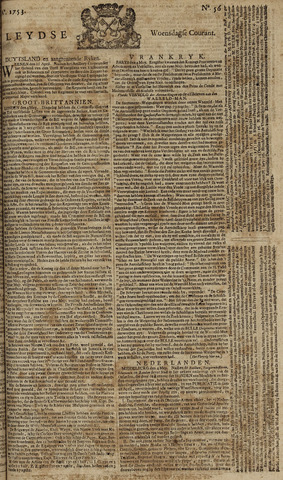Leydse Courant 1753-05-09