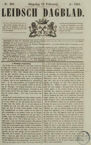 Leidsch Dagblad 1861-02-19
