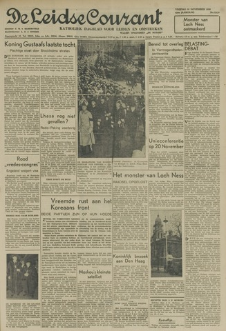 Leidse Courant 1950-11-10