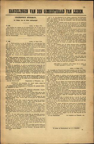 Handelingen van de Raad 1872-03-14