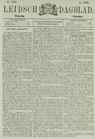 Leidsch Dagblad 1876-11-01