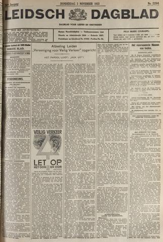 Leidsch Dagblad 1933-11-02