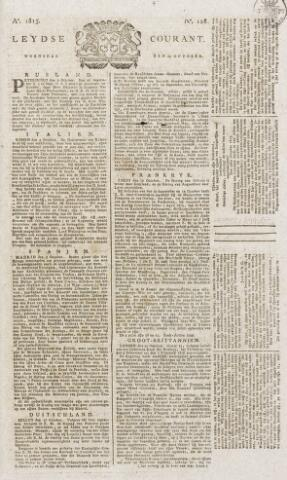 Leydse Courant 1815-10-25