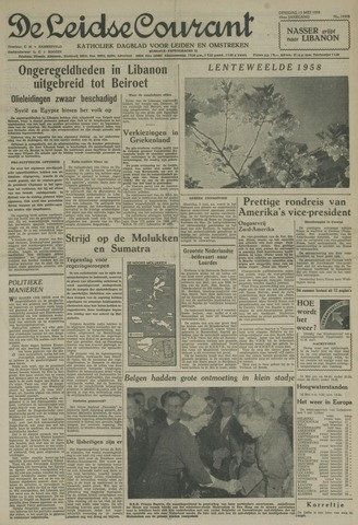 Leidse Courant 1958-05-13