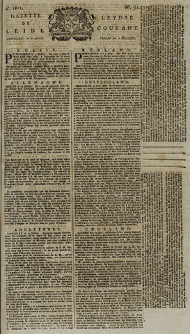 Leydse Courant 1811-08-02