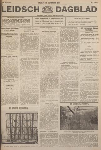 Leidsch Dagblad 1930-09-12