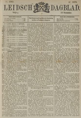 Leidsch Dagblad 1878-11-29
