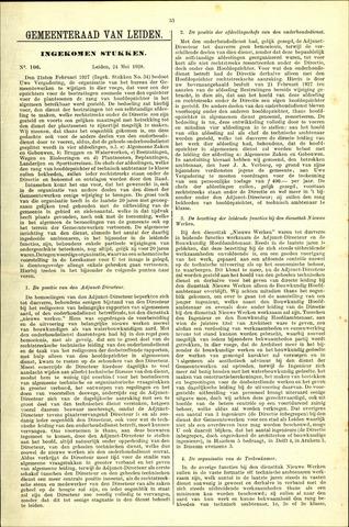 Handelingen van de Raad 1928-05-24