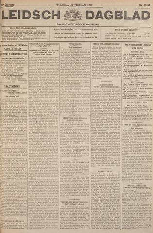 Leidsch Dagblad 1930-02-26