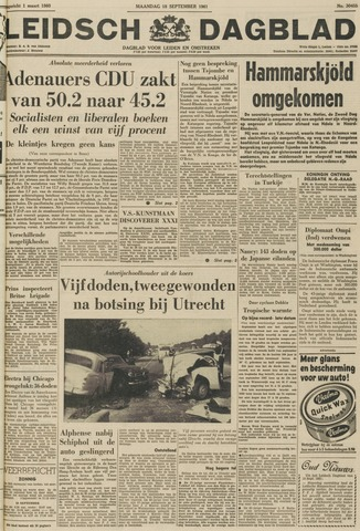 Leidsch Dagblad 1961-09-18
