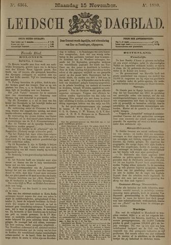Leidsch Dagblad 1880-11-15