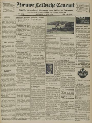 Nieuwe Leidsche Courant 1938-04-27