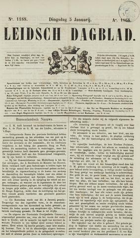Leidsch Dagblad 1864-01-05