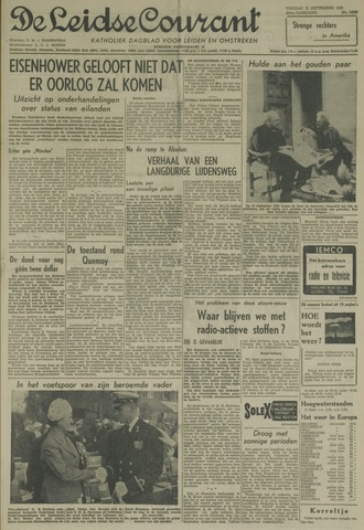 Leidse Courant 1958-09-12