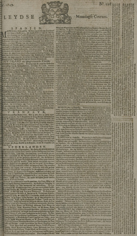 Leydse Courant 1749-09-08
