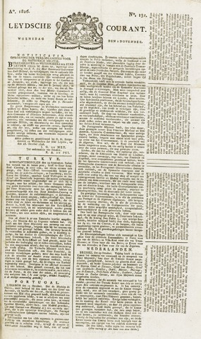 Leydse Courant 1826-11-01