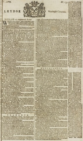 Leydse Courant 1769-11-03