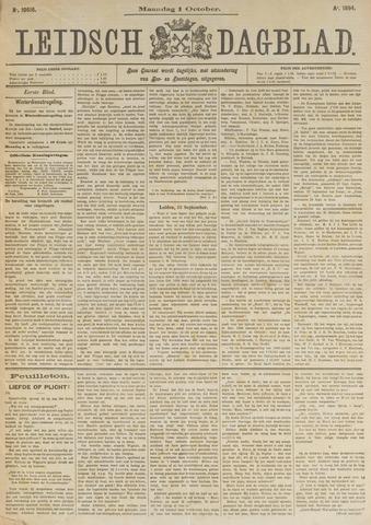 Leidsch Dagblad 1894-10-01