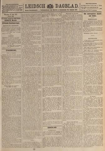 Leidsch Dagblad 1921-06-27