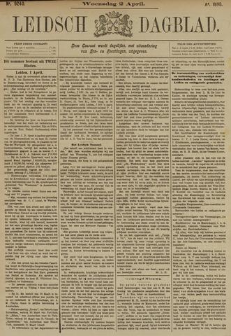 Leidsch Dagblad 1890-04-02