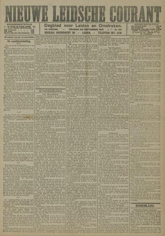 Nieuwe Leidsche Courant 1921-09-30
