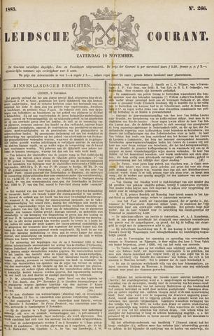 Leydse Courant 1883-11-10
