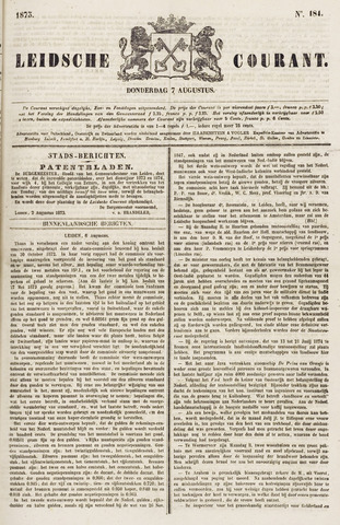 Leydse Courant 1873-08-07