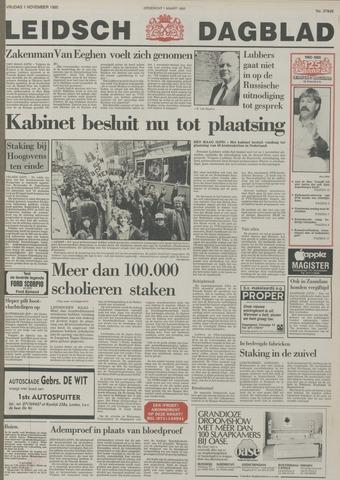 Leidsch Dagblad 1985-11-01