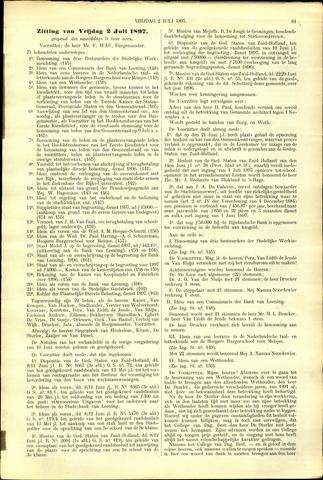 Handelingen van de Raad 1897-07-02
