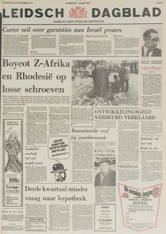 Leidsch Dagblad 1977-12-29