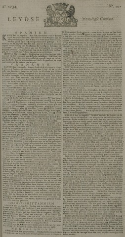 Leydse Courant 1734-09-06