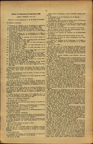 Handelingen van de Raad 1886-09-23