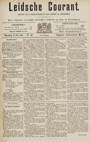 Leydse Courant 1885-07-13