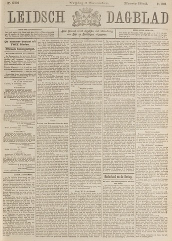 Leidsch Dagblad 1916-11-03