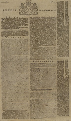 Leydse Courant 1763-10-05