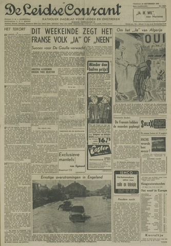 Leidse Courant 1958-09-26